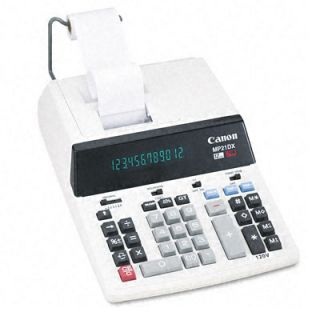 Canon MP21DX 2 Color High Performance Ribbon Printing Calculator Today