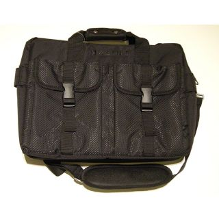 Imagine Eco Friendly Black Laptop Briefcase Today $49.99