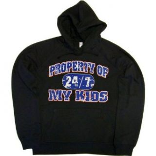 JUNIORS HOODY  WHITE   XX LARGE   Property of My Kids 24