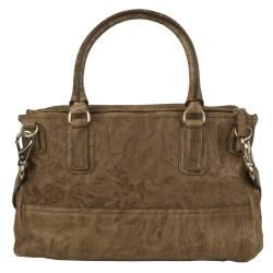 Givenchy Medium Pandora Brown Textured Leather Messenger Bag