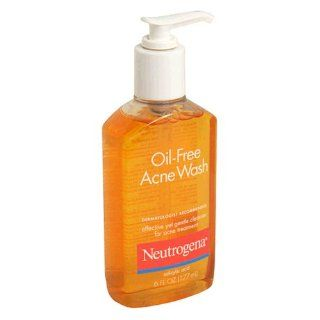 Neutrogena Oil Free Acne Wash, 6 Fluid Ounce (177 ml) Beauty