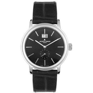 Jacques Lemans Mens GU177A Geneve Baca Extra Flat Collection Watch