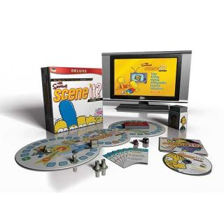 Scene It? The Simpsons Deluxe Edition