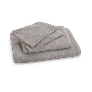Lot 1 drap+1 serv.+2 gants BIO Gris 450 gr   Achat / Vente PARURE DE