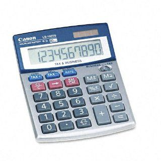Canon : LS 100TS Compact Desktop Calculator, 10 Digit LCD
