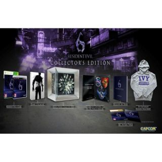 RESIDENT EVIL 6 COLLECTOR / Jeu console XBOX 360   Achat / Vente