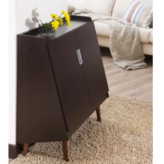Enitial Lab Trapezy Walnut Multi purpose Storage Cabinet Today $217