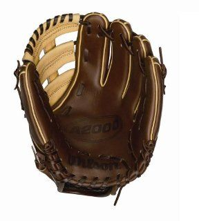 Wilson A2000 Showcase Series Reinforced Dual Post Web