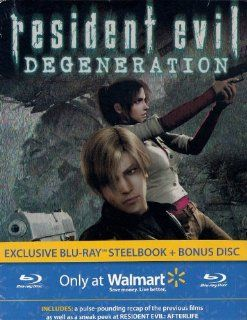 Resident Evil Degeneration (Exclusive Blu ray Steelbook