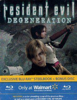 Resident Evil Degeneration (Exclusive Blu ray Steelbook
