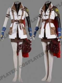 Japanese Anime Final Fantasy XIII Cosplay Costume