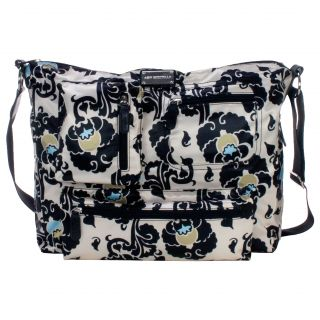 Amy Michelle Iris Charcoal Floral Computer Bag Today $78.99