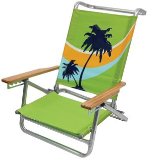 Palm Reclining Beach Chair