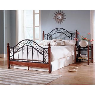 Frisco Queen size Metal/Wood Bed