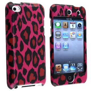 BasAcc Hot Pink Leopard Case for Apple iPod Touch 4th Generation