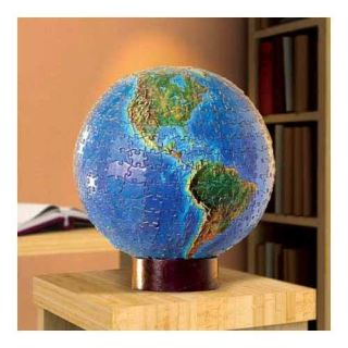 World Globe 3D Spherical 530 piece Jigsaw Puzzle