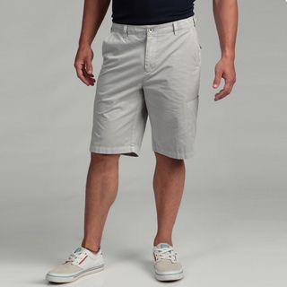 Calvin Klein Mens Pigment Garment Dye Linen Shorts
