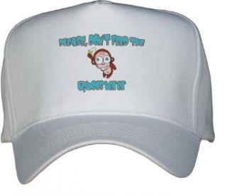Please, Dont Feed The Upholsterer White Hat / Baseball