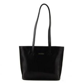 Tuscany Leather Giulia   Italian Leather Handbag Black
