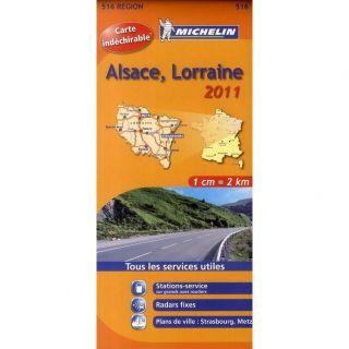CARTE ROUTIERE ALSACE LORRAINE HR 2011   Achat / Vente livre