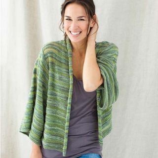 Green Organic Kimono (Peru)