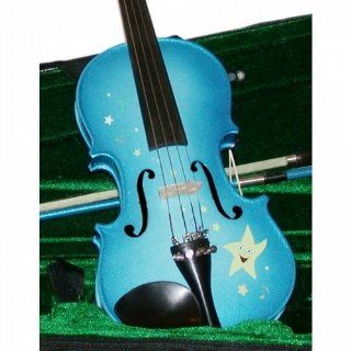 Rozannas Student Violin Outfit   Twinkle Star Blue, 1