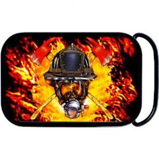 Firefighter Fireman Belt Buckle Clothing