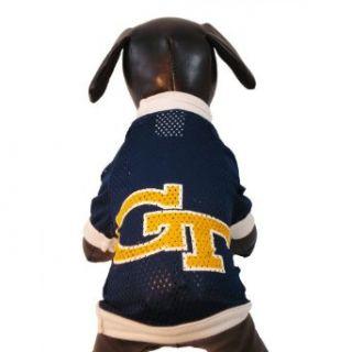 NCAA Georgia Tech Yellow Jackets Athletic Mesh Dog Jersey
