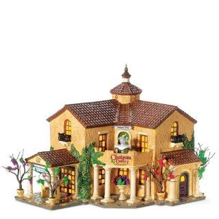 Department 56 Snow Village Chateau Valley Winery Home