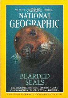 National Geographic   March 1997 (Vol. 191, No. 3)   Bearded Seals