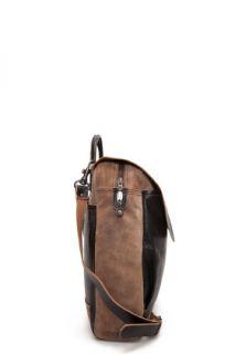 Diesel Black Gold Work Messenger Bag for men
