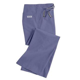 IguanaMed Womens Classic Ceil Blue Boot Cut Pants