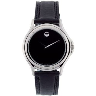 Movado Mens Stainless Steel Folio Watch