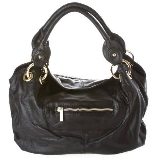 Junior Drake Arizona Leather Hobo Bag