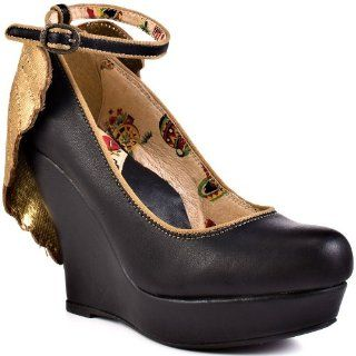 Womens Shoe Rio   Black by Miss L Fire Shoes