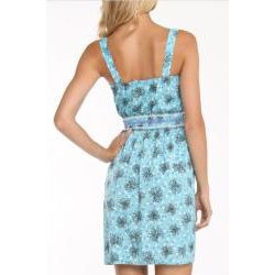 247 Frenzy Juniors Ribbon and Hearts Printed Dress