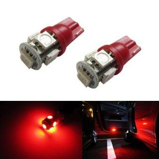 iJDMTOY 5 SMD 5050 168 194 2825 LED Bulbs For Car Side Door Courtesy