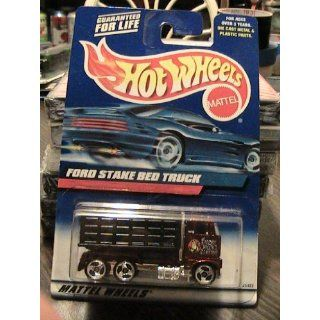 hot wheels black ford stake bed truck 191 2000