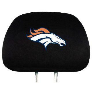 NFL Denver Broncos Head Rest Covers