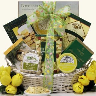 Tempting Easter Cheese Delights Gourmet Gift Basket Today $62.29