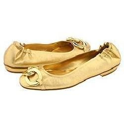 Juicy Couture Edith Gold Powdered Suede