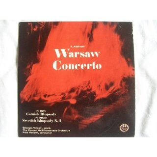 HM 196 GEORGES VINCENT Addinsell Warsaw Concerto etc Fred