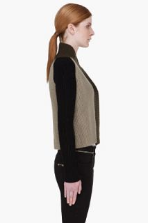 Givenchy Tricolor Cashmere Blend Cardigan for women