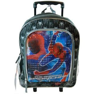 The Amazing Spider Man Rolling Backpack 16 Toys & Games