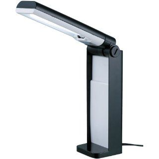 Normande GP3 193 13W PL Desk Lamp, each, Black Molded
