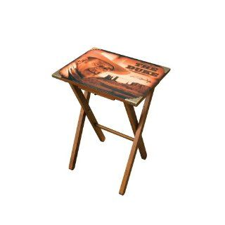 Vandor John Wayne Wooden TV Tray