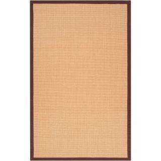 Woven Brown Hillsborough West Natural Fiber Sisal Rug (5 x 79) Today