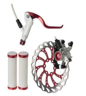 Clarks Skeletal Hydraulic Brake L.E. Kit, 160mm, Red