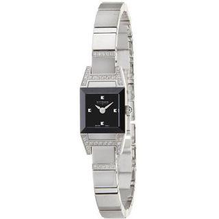 Wittnauer Winter Garden Stainless Steel Womens Quartz Diamond Watch