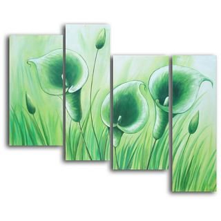 Green Grass Grows Hand painted Canvas Art